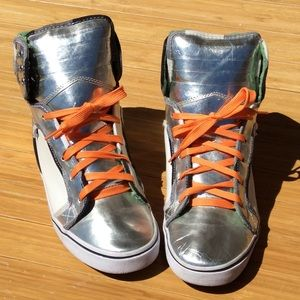 Steve Madden Shoes - Rare Steve Madden Cobra-Hi Sneakers Women's 8